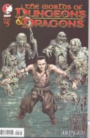 Worlds Of Dungeons & Dragons #5 Cover A Locke (2008) DDP Devil's Due Publishing